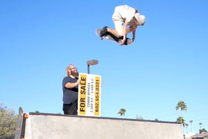 "Aaron ""Jaws"" Homoki: Phoenix Skatepark Check"