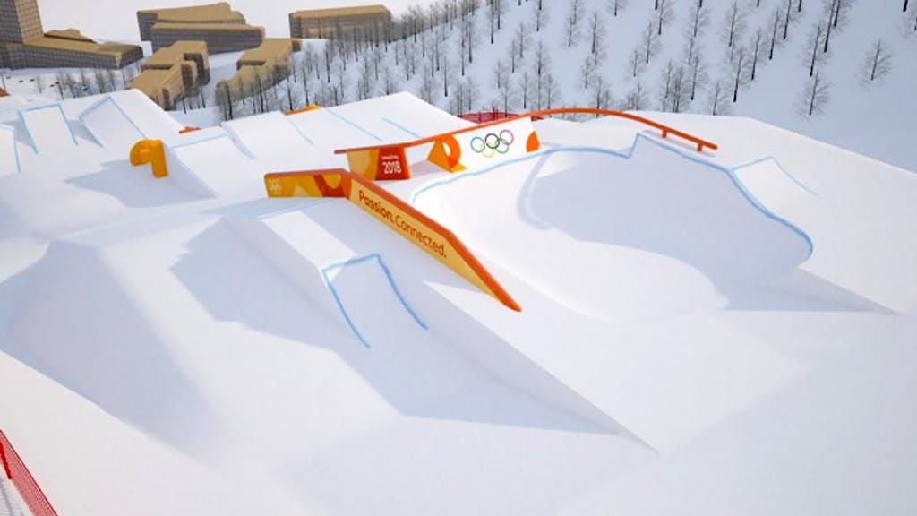 Olympic Slopestyle Course Revealed - primary image