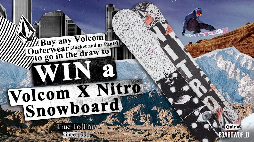 Win a Volcom x Nitro Snowboard - primary image