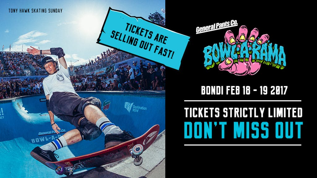 General Pants BOWL-A-RAMA Bondi 2017: Preview - primary image