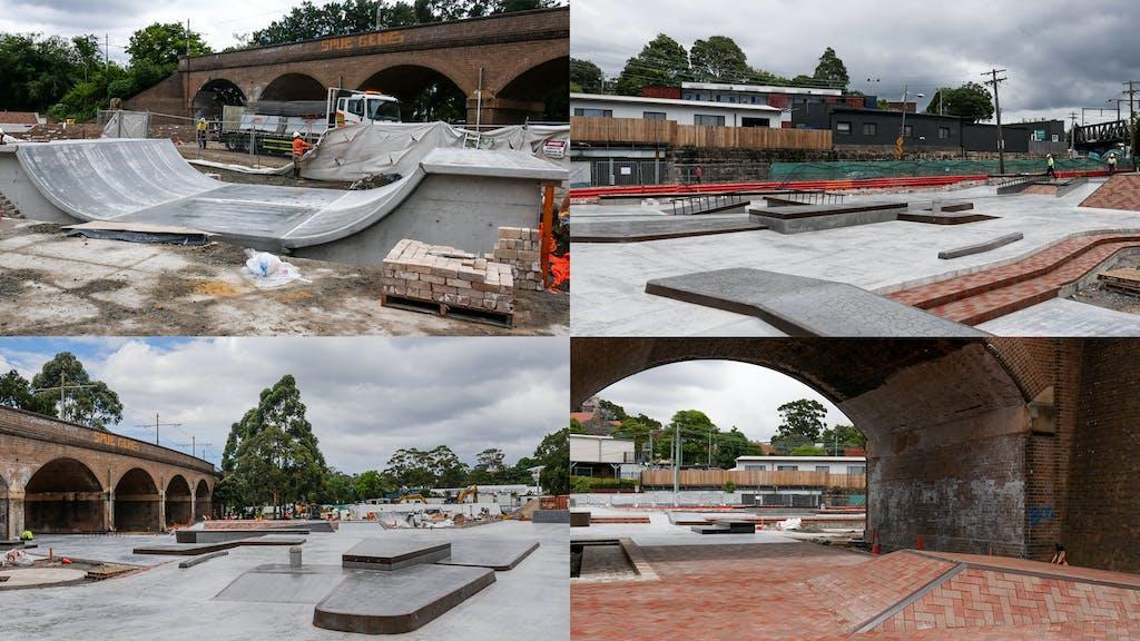 Glebe Skatepark Update - primary image