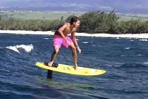 Open Ocean Hydrofoil Surfing