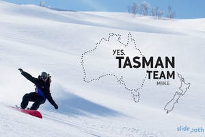 TASMAN TEAM: Mike Handford