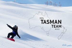 TASMAN TEAM: Mike Handford