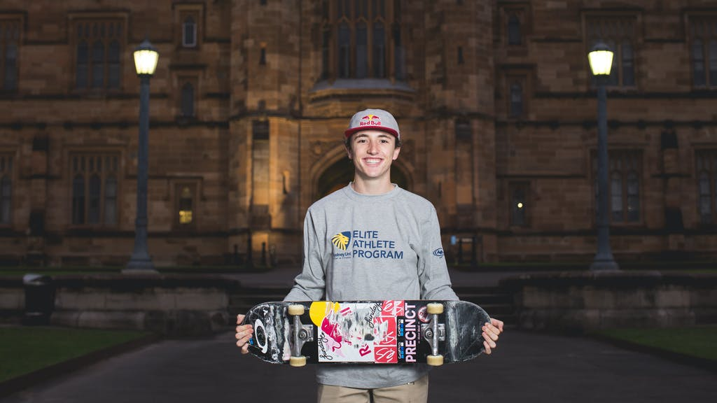 A Scholarship for Skateboarding - primary image