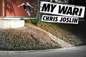 Chris Joslin: My War