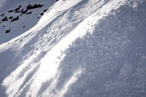 Gigi Rüf Caught in an Avalanche