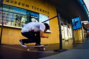 JASON PARK CRUISING DOWNTOWN LOS ANGELES