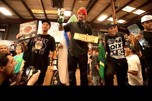Luan Oliveira Wins the 2015 Tampa Pro
