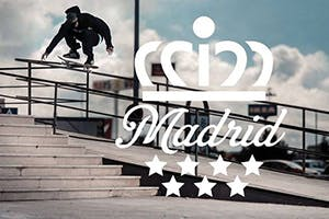 ADIDAS SKATEBOARDING MADRID