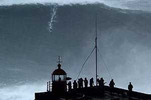 NAZARÉ BLOW UP - MASSIVE SURF IN PORTUGAL