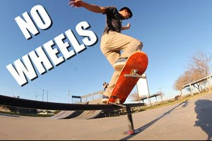 Skateboarding Without Wheels