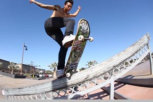 Nyjah Huston and Tommy Fynn: Park Session