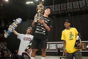 Nyjah Wins SLS Super Crown