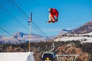 Sebastien Toutant Shreds Mammoth Mountain