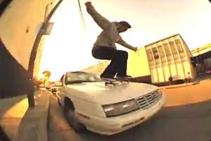Skateboarding on Traffic
