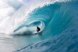 Volcanic Weekend: Teahupoo