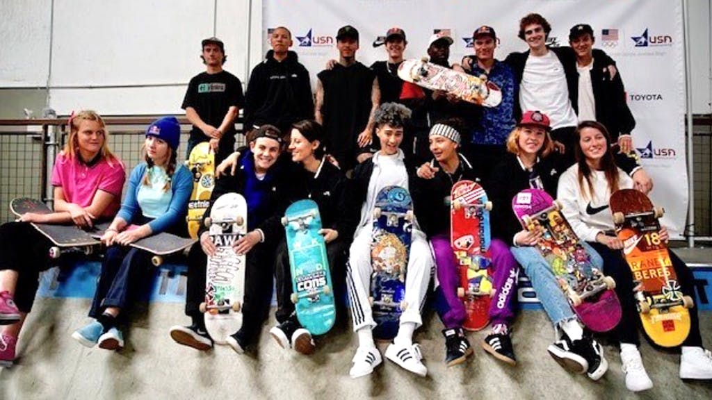 USA Olympic Skateboarding Team Announced - primary image