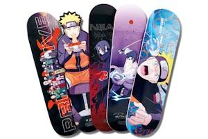 Naruto x Primitive Skateboarding