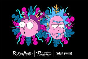 Rick & Morty x Primitive