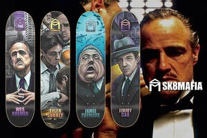 The Godfather x Sk8Mafia