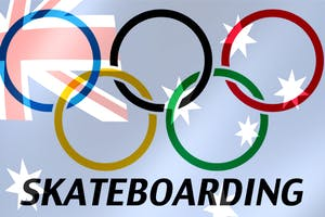 Australia's Olympic Skateboarding Team