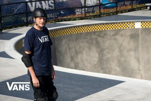 Tony Hawk is on Vans
