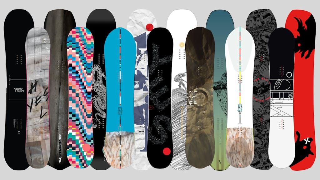 YES. Snowboards 2017 Range - primary image