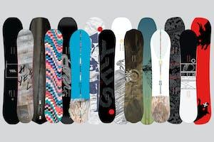 YES. Snowboards 2017 Range