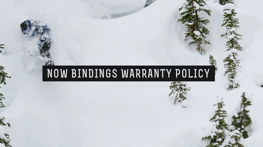 Warranty Policy — Now Bindings - primary image