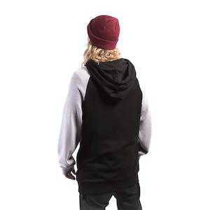 3CS Scripted Tall Hoodie - Black