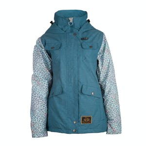 3CS Brunswick Women's Snowboard Jacket - Cobalt