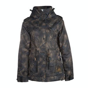 3CS Sentry Women's Snowboard Jacket - Coffee Camo