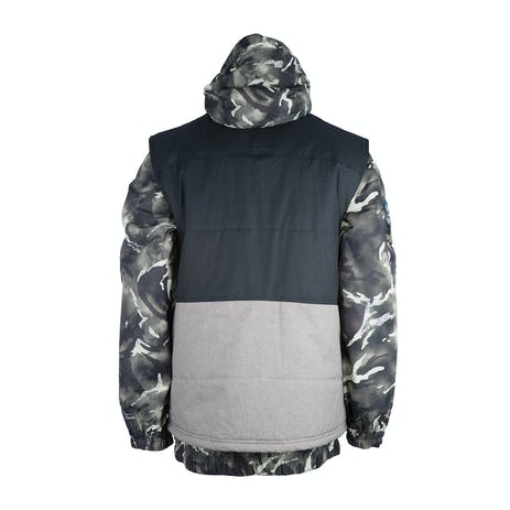 3CS Sorsa 3-in-1 Men's Snowboard Jacket - Moss Camo