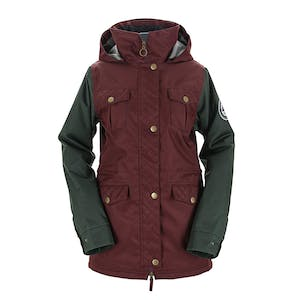 3CS Brunswick Women's Snowboard Jacket 2018 - Maroon