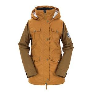 3CS Brunswick Women's Snowboard Jacket 2018 - Rust
