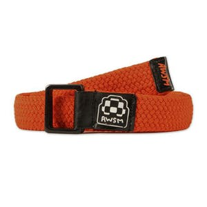 AWSM Nicole Belt — Orange/Black