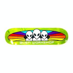 """Alien Workshop Spectrum Stain 8.25"""" Skateboard Deck - Green"""