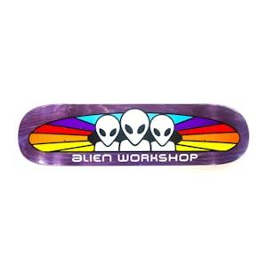 """Alien Workshop Spectrum Stain 8.25"""" Skateboard Deck - Purple"""