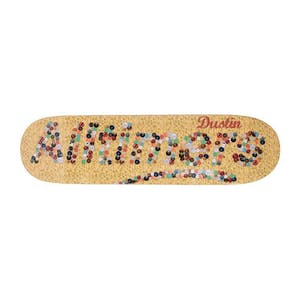 "Alltimers Dustin Knit Logo 8.5"" Skateboard Deck"