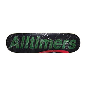 "Alltimers Packing Tape 8.5"" Skateboard Deck - Grey"