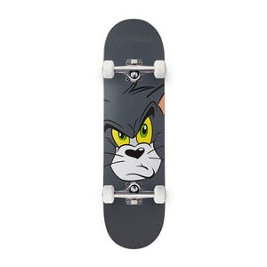 "Almost Tom Face 8.0"" Premium Complete Skateboard - Grey"