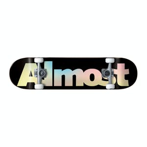 "Almost Pastel Fade 7.625"" Complete Skateboard - Black"