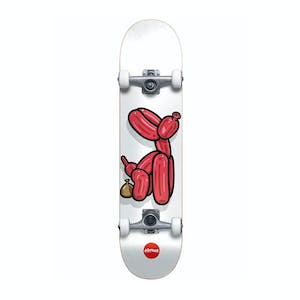 "Almost Balloon Dog 7.75"" Complete Skateboard - White"