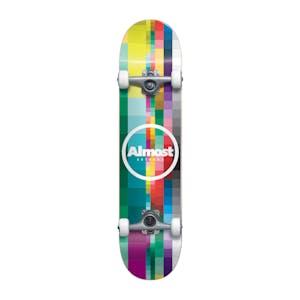 """Almost Rasterized 8.25"""" Complete Skateboard"""
