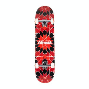 "Almost Tile Pattern 7.75"" Complete Skateboard"