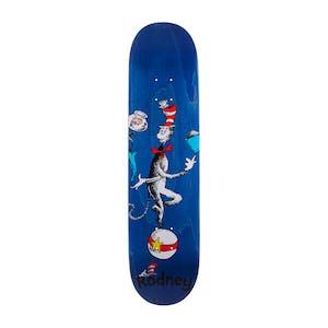 """Almost x Dr. Seuss Cat Ball 7.875"""" Skateboard Deck - Rodney"""