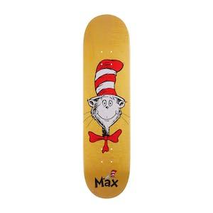 "Almost x Dr. Seuss Cat Face 8.0"" Skateboard Deck - Max"