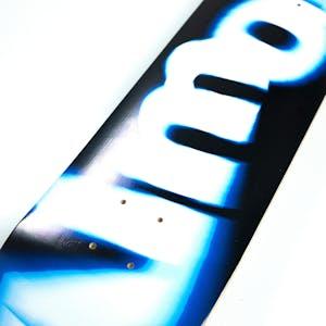 "Almost Spin Blur Logo 8.0"" Skateboard Deck - Blue"