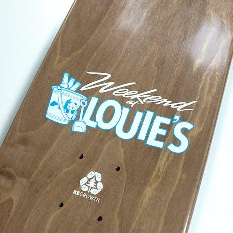 "Enjoi Weekend At Louie's 8.0"" Skateboard Deck - Deedz"